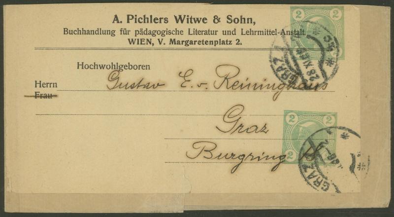Privatganzsachen von A. Pichlers Witwe & Sohn Pa_2_211