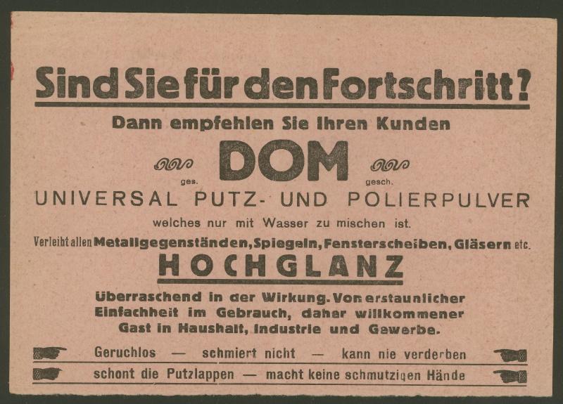 Werbeumschläge und -karten aus Österreich - Seite 7 Putzpu13