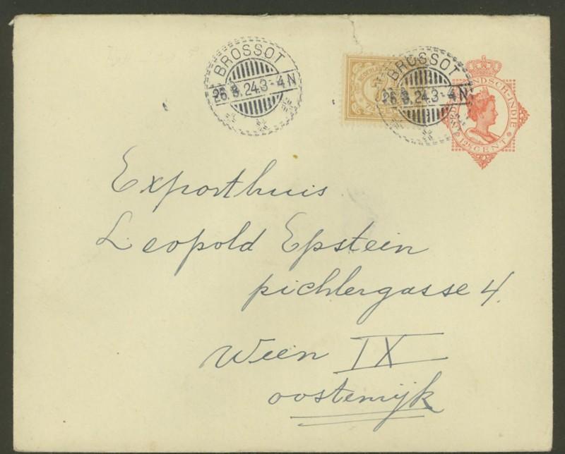 Niederländisch Indien - Ganzsachen / Umschläge U_3610