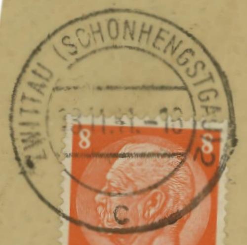 Sudetenland - Stempel mit und ohne Belege Zwitta10