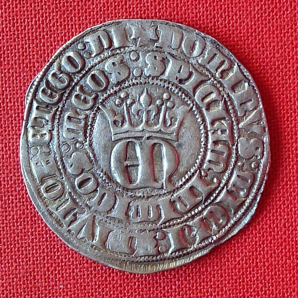 Real de Enrique II. Toledo (emisión 1373 d C.) 1368a10