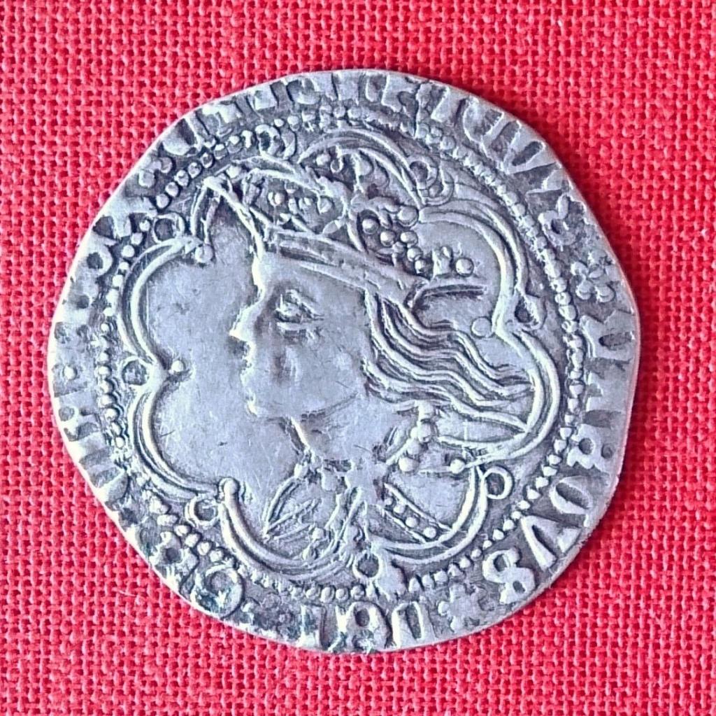 Real de Busto de Enrique IV (1454-1474) Ceca de Sevilla. 1474a10
