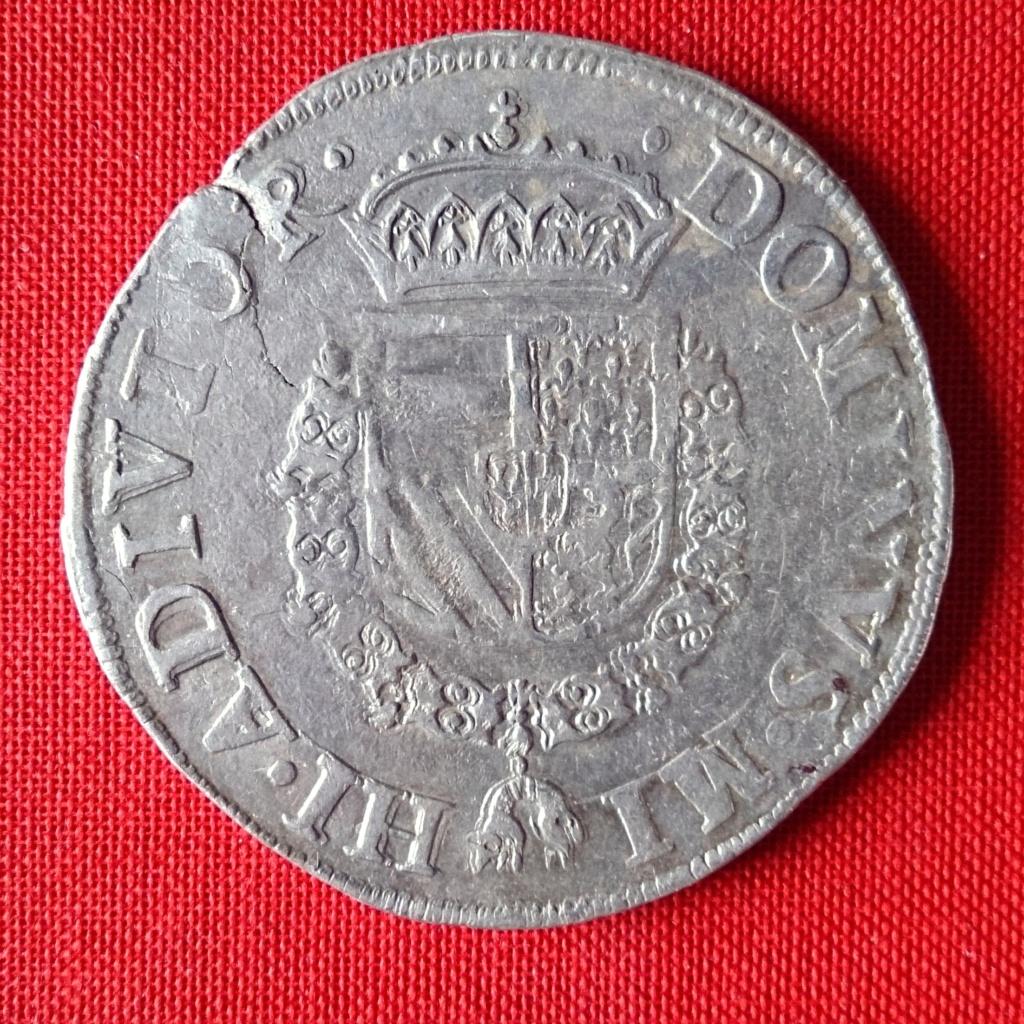 Escudo de la Cruz de Borgoña, 1567 Felipe II. Ceca de Nimega 1567ha10