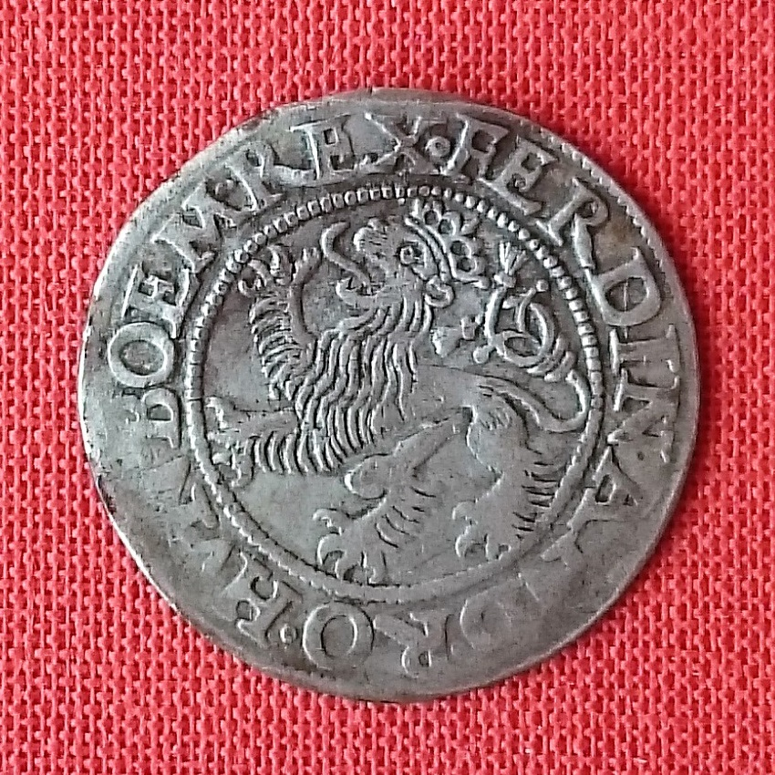 3 kreuzer (groschen) del Ducado de Silesia. 1546 2019-012