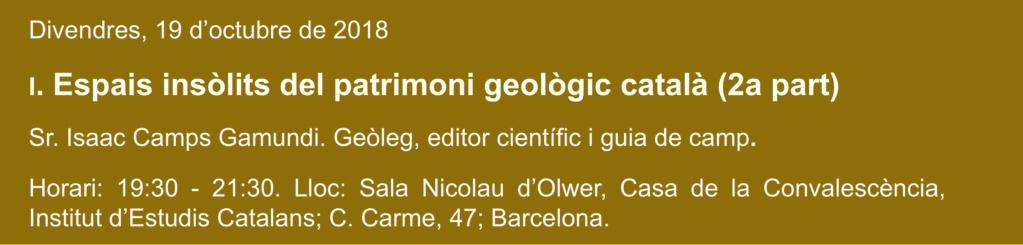 Conferència Inaugural Cicle Conferències Mineralògiques de Tardor 2018 113