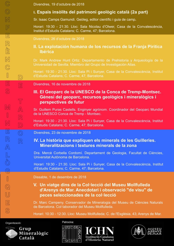 Cicle de Conferències Mineralògiques de Tardor 2018 210