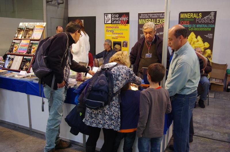 Expominer: actes i activitats a l'estand del Grup Mineralògic Català  2_19410