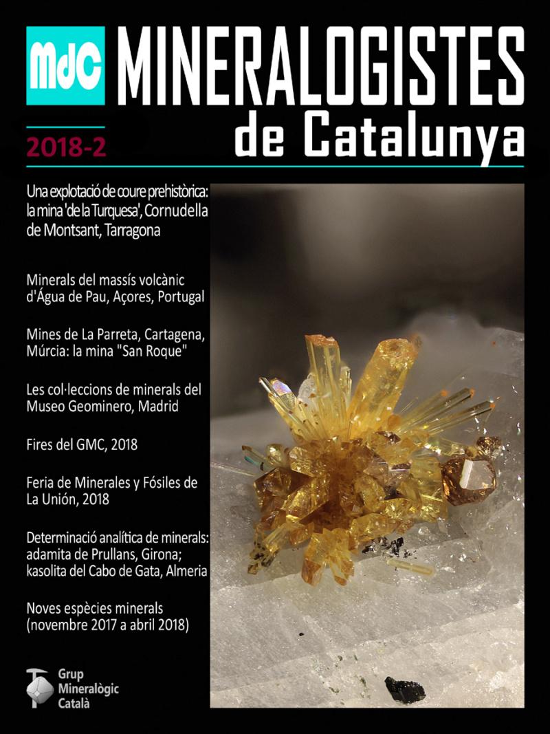 Mineralogistes de Catalunya y Paragénesis 2018 / 2 Mdc_2011