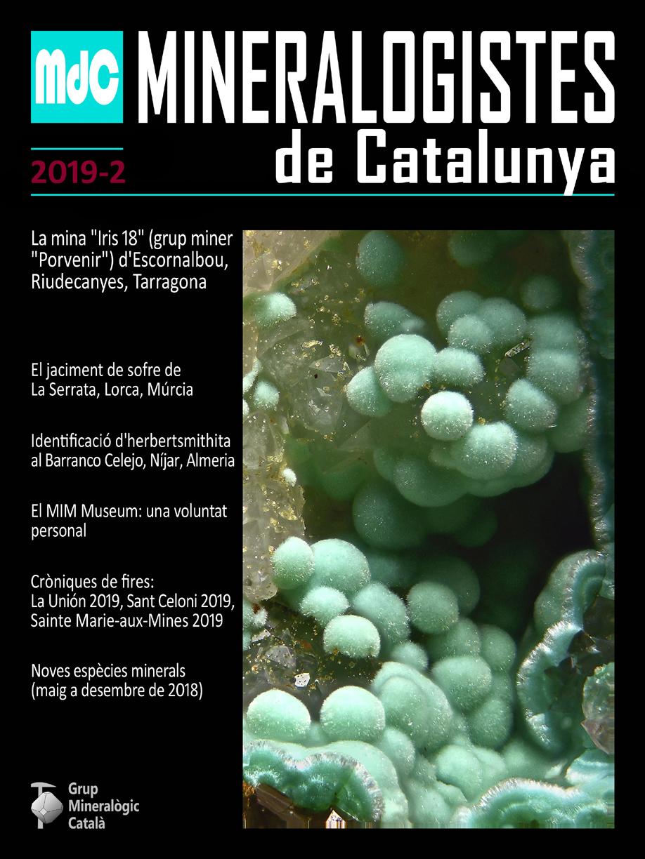 Mineralogistes de Catalunya y Paragénesis 2019 / 2 Mdc_2012
