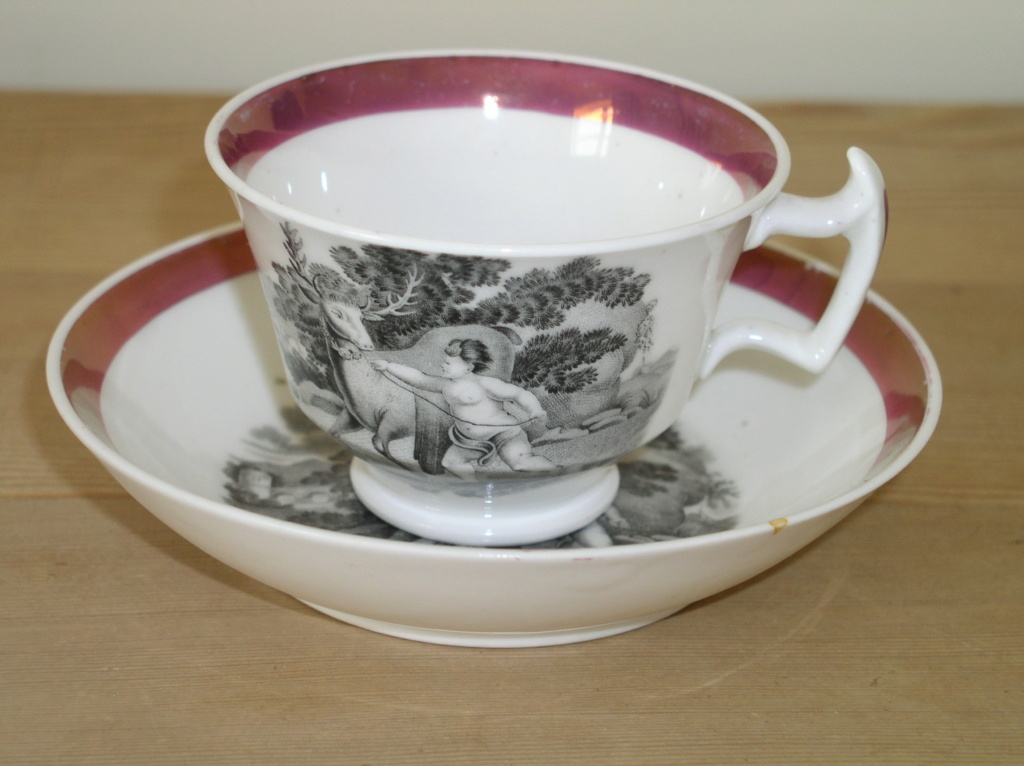 Unmarked Victorian Tea cup & saucer unmarked??? P1010243