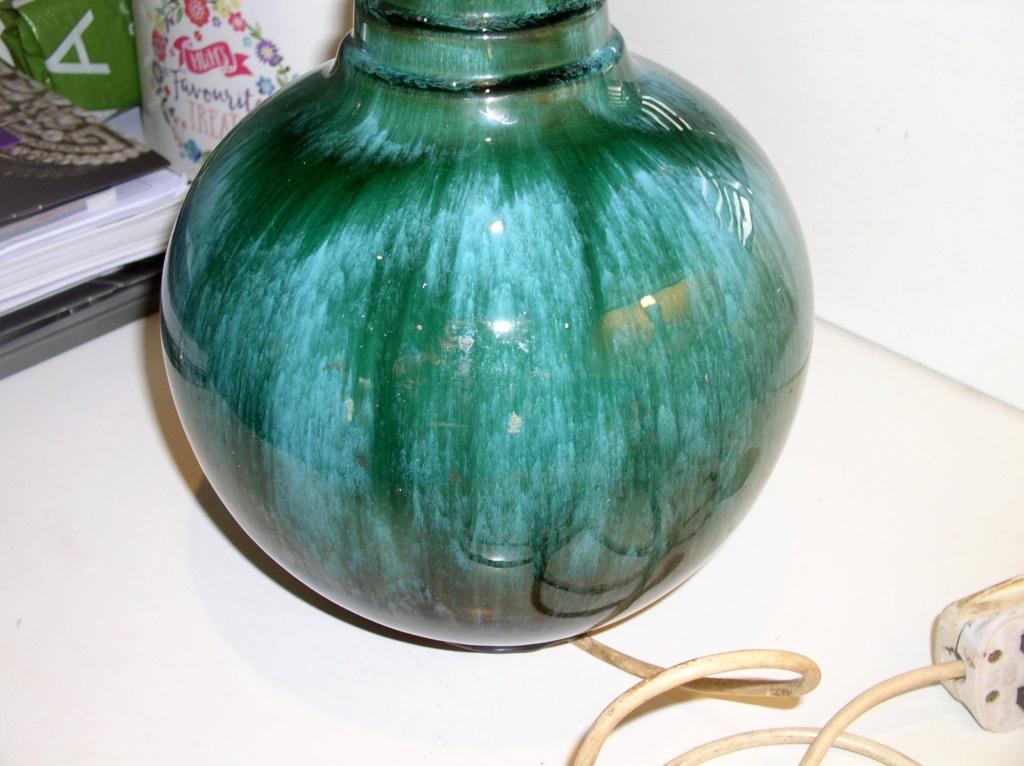 Large Mid-Century? Studio Pottery Lamp Base... P1010810