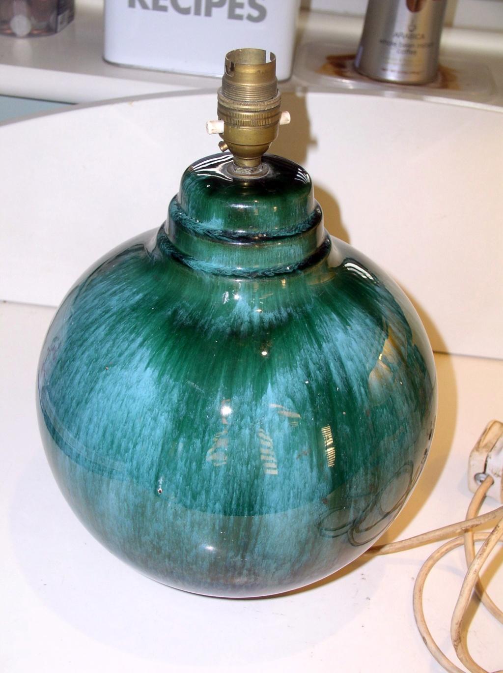 Large Mid-Century? Studio Pottery Lamp Base... P1010811