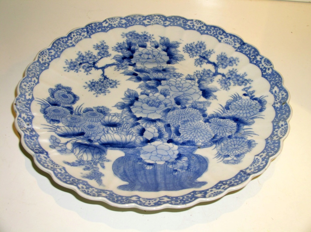 Large Platter In Cobalt Blue Chinese Reproduction/Original?? P1010911