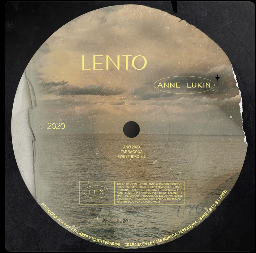 "Anne Lukin (OT2020) >> Single ""Lento"" 14734510"