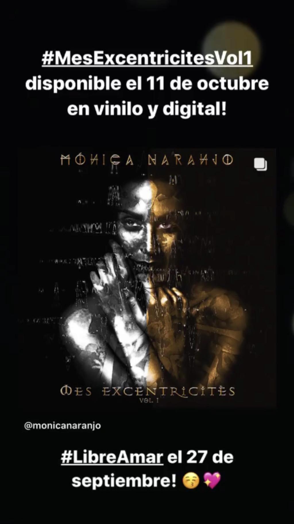 """Mónica Naranjo >> álbum """"Mes Excentricitès"""" - Página 2 2e54cc10"""