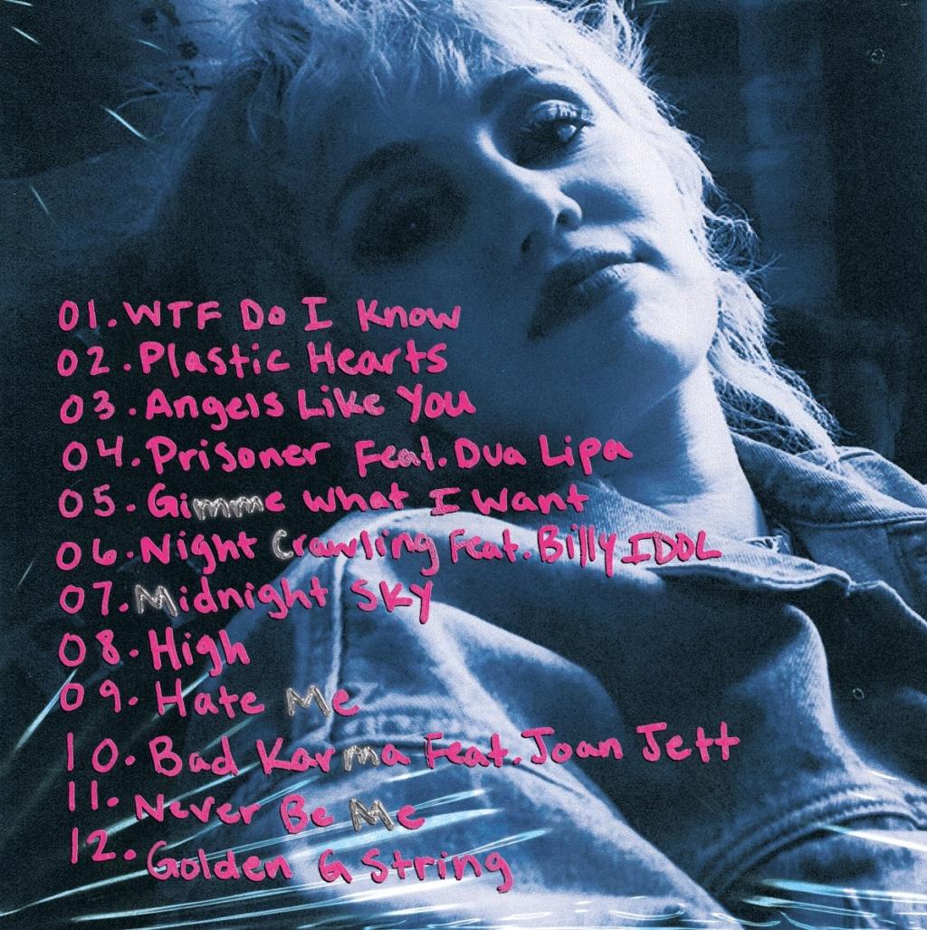 """Miley Cyrus >> álbum """"Plastic Hearts"""" - Página 7 9819bf10"""