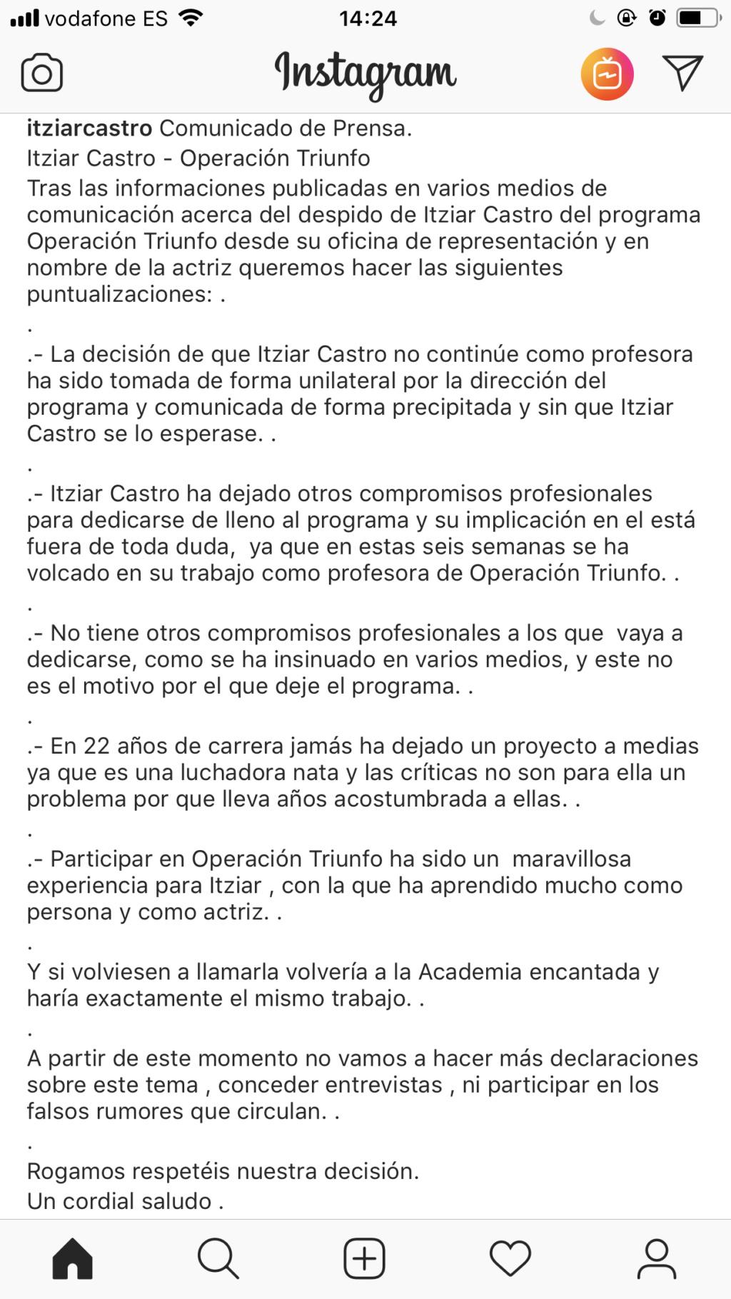 "Talent Show >  ""Operación Triunfo 2018"" - Página 5 9a6dea10"