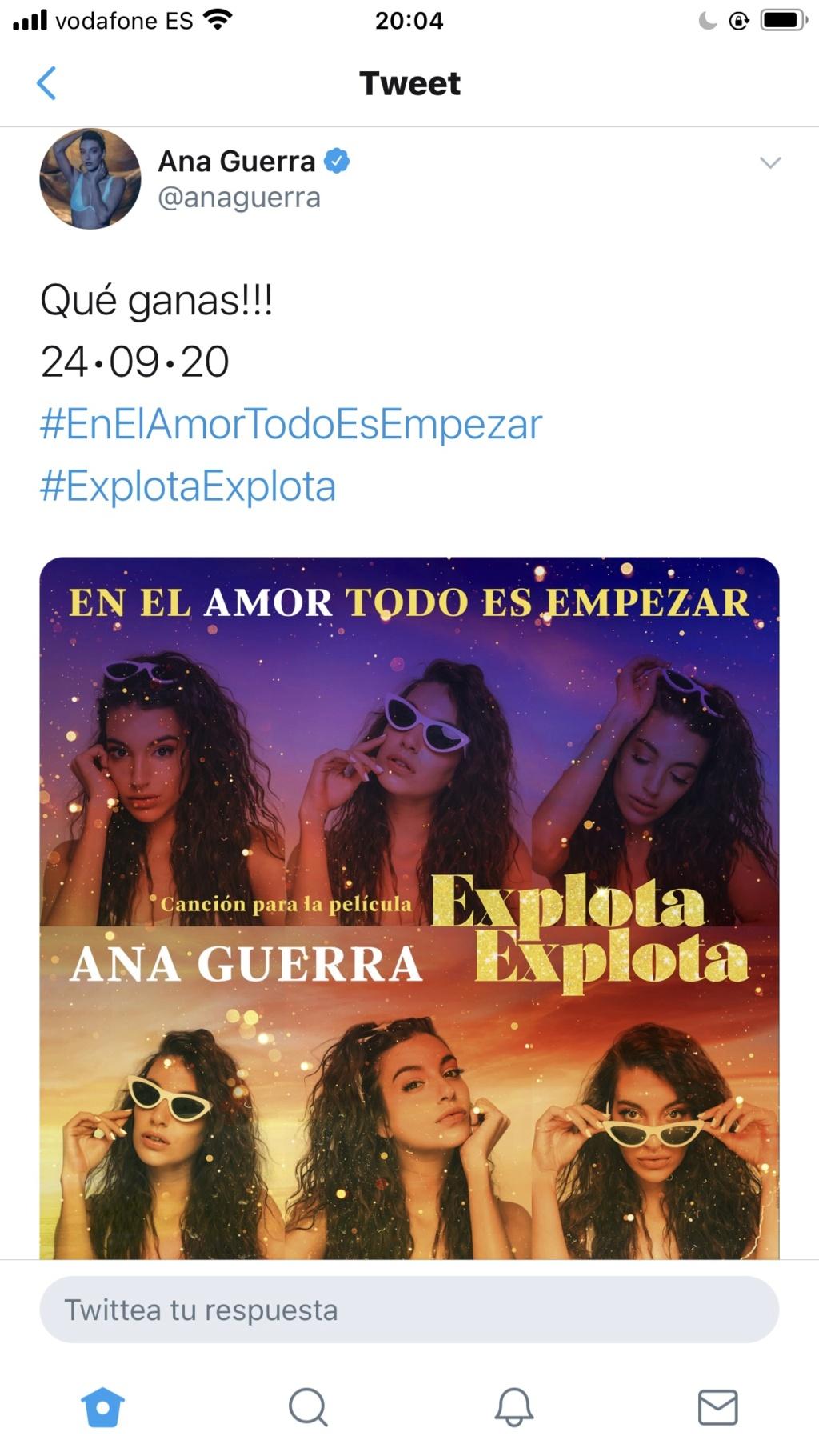 """Ana Guerra >> """"Los amigos no se besan en la boca"""" feat Lasso - Página 42 A161ce10"""