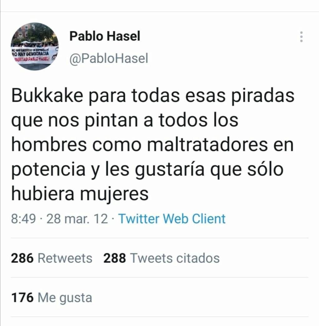 El rapero Pablo Hasel irá a la cárcel,¿os indigna ?,¿os da igual? Euhm1b10