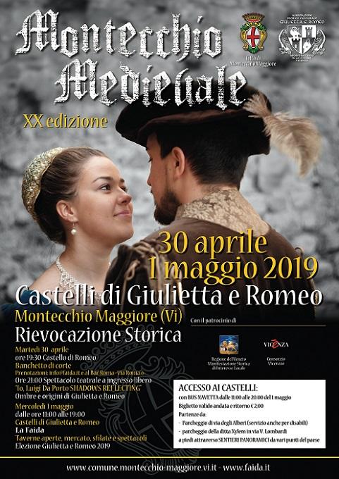 """Montecchio Medievale 2019 """"La Faida"""" Locand10"""