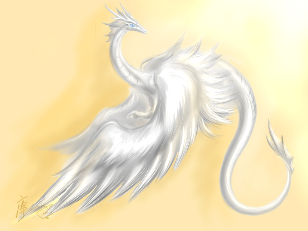 Белый Дракон рейки Belyj-10