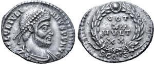 silique de julien II pour Arles 8120210