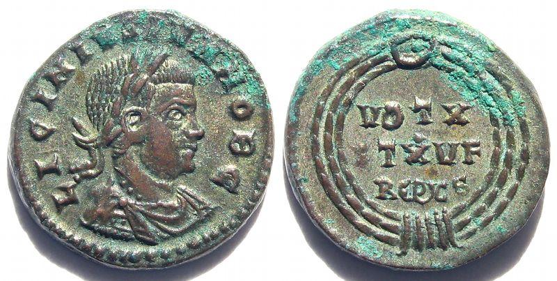 Les monnaies au cryptogrammes  Licini26