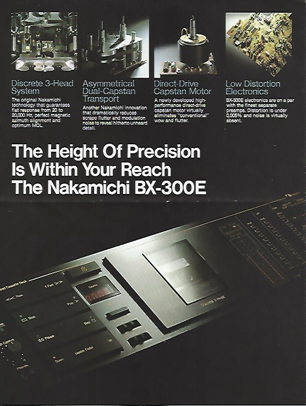 NAKAMICHI DECK 1 Ef58e112