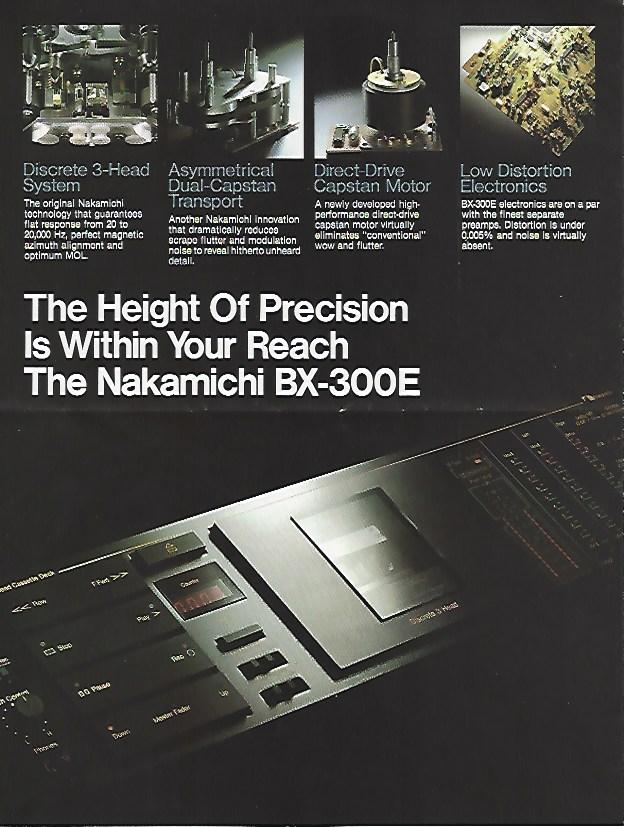 Nakamichi cassette Ef58e113