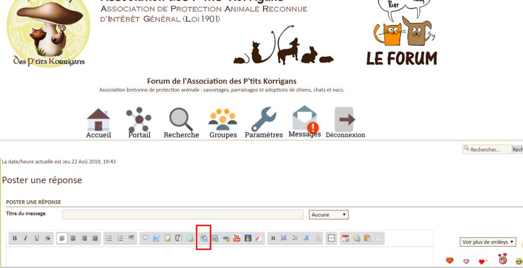 TUTO : Comment poster un message avec des photos sur le forum ? Captur17