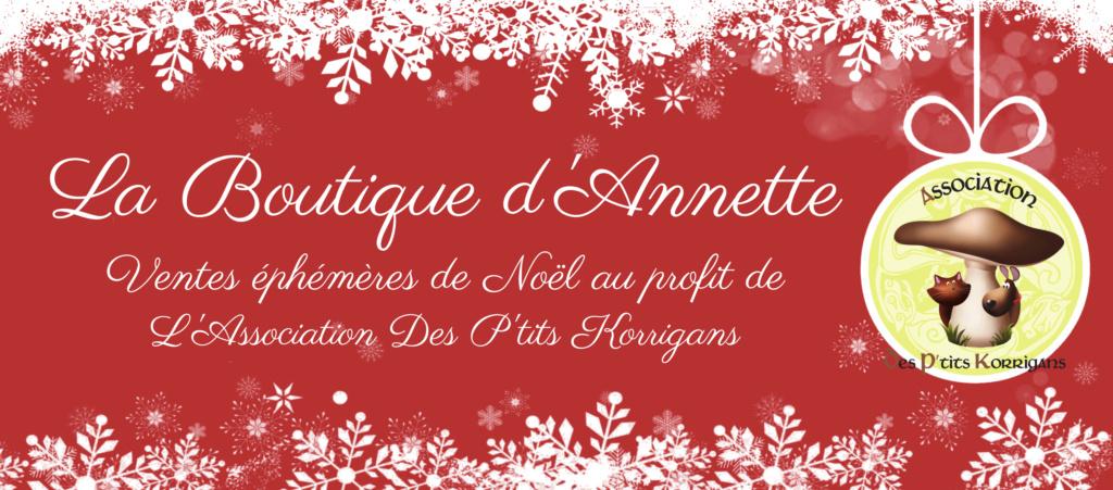 [Terminé] La Boutique d'Annette - Ventes éphémères de Noël pour les animaux Couv211