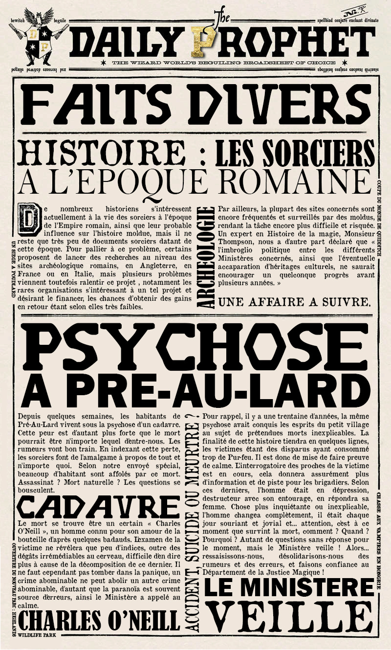 [ANNEXE] Anciennes Gazettes 15678113