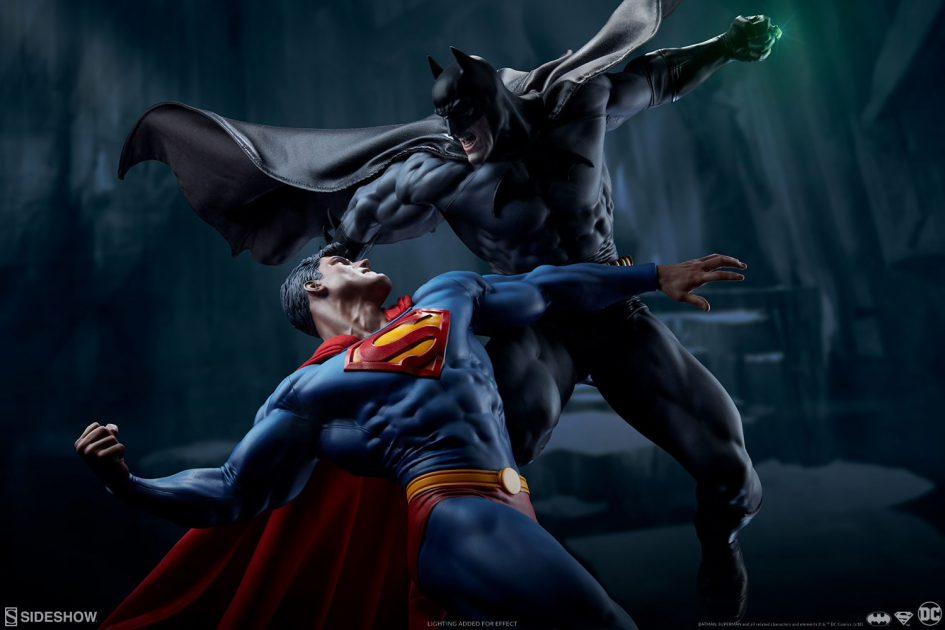 [Sideshow] Batman vs Superman Diorama 20053910