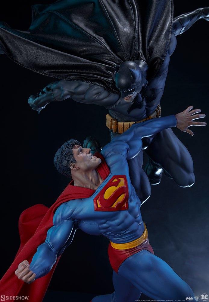 [Sideshow] Batman vs Superman Diorama 20053932