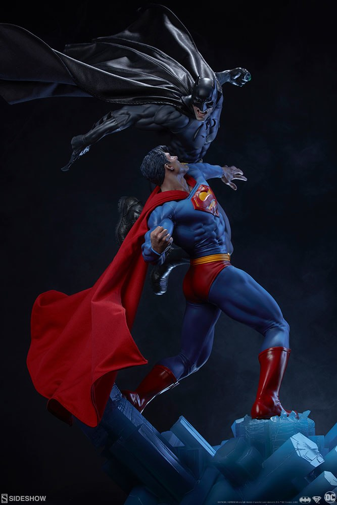 [Sideshow] Batman vs Superman Diorama 20053935
