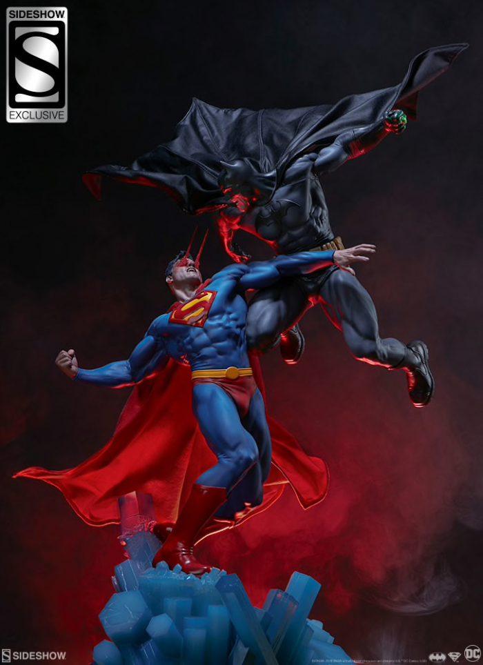[Sideshow] Batman vs Superman Diorama 20053937