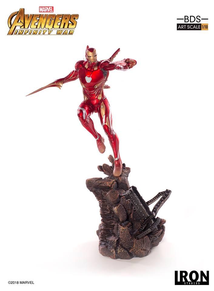 [Iron Studios] - Avengers: Infinity War - Mark XLVIII 1/10 37137610