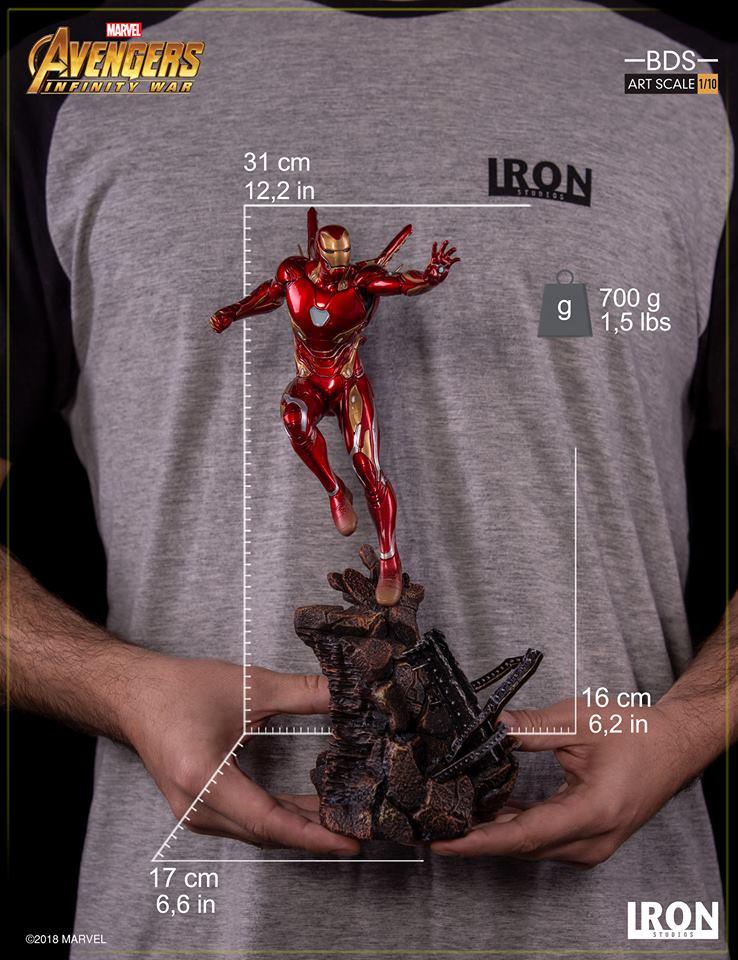[Iron Studios] - Avengers: Infinity War - Mark XLVIII 1/10 37147110