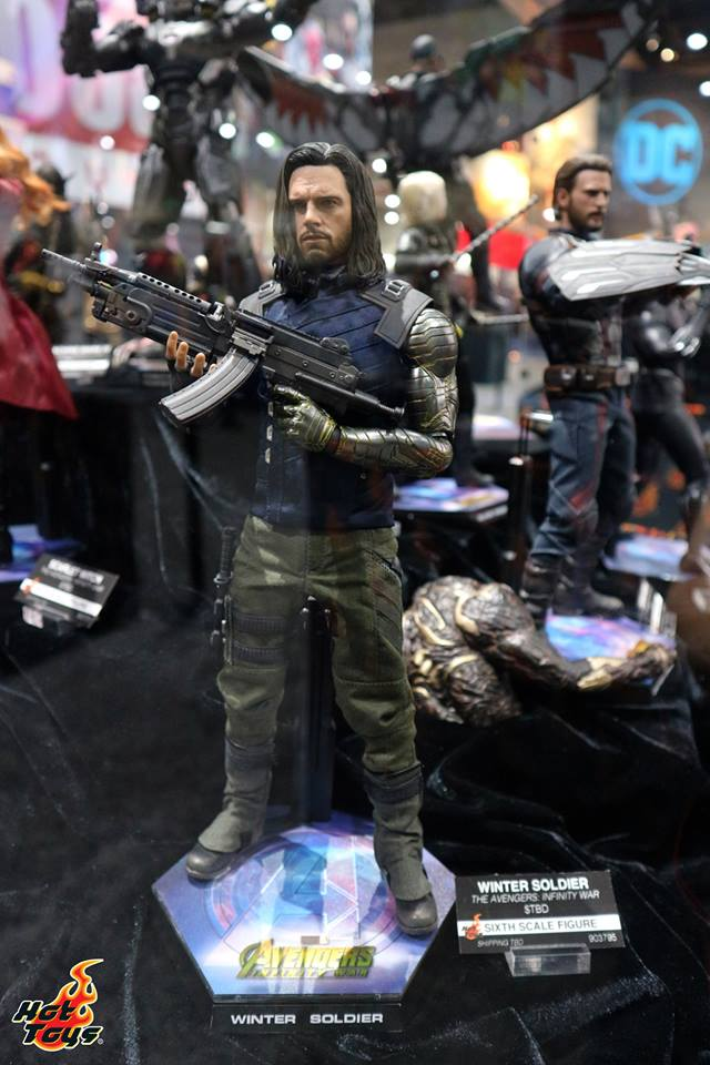 [Hot Toys] -Avengers: Infinity War - Winter Soldier 1/6 37332711