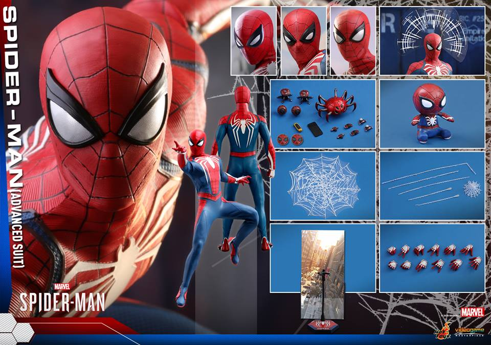 [Hot Toys] -Spider-Man Game- Spider-Man 1/6 37646911