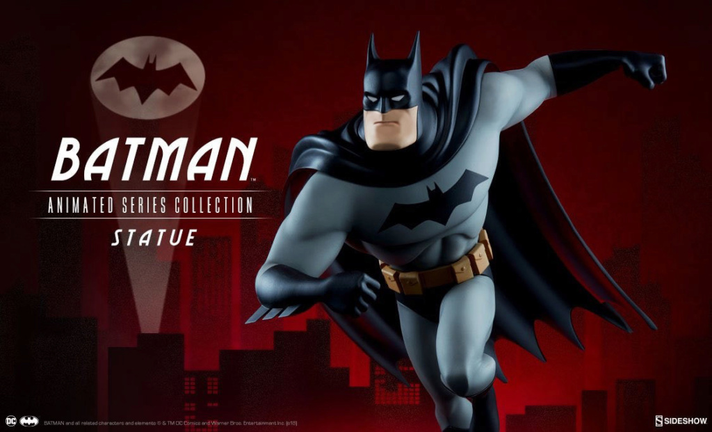 [Sideshow] DC Animated Series Collection-Batman 37t3ed10