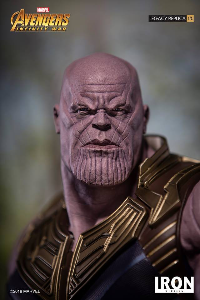 [Iron Studios] - Avengers: Infinity War - Thanos 1/4 38696010