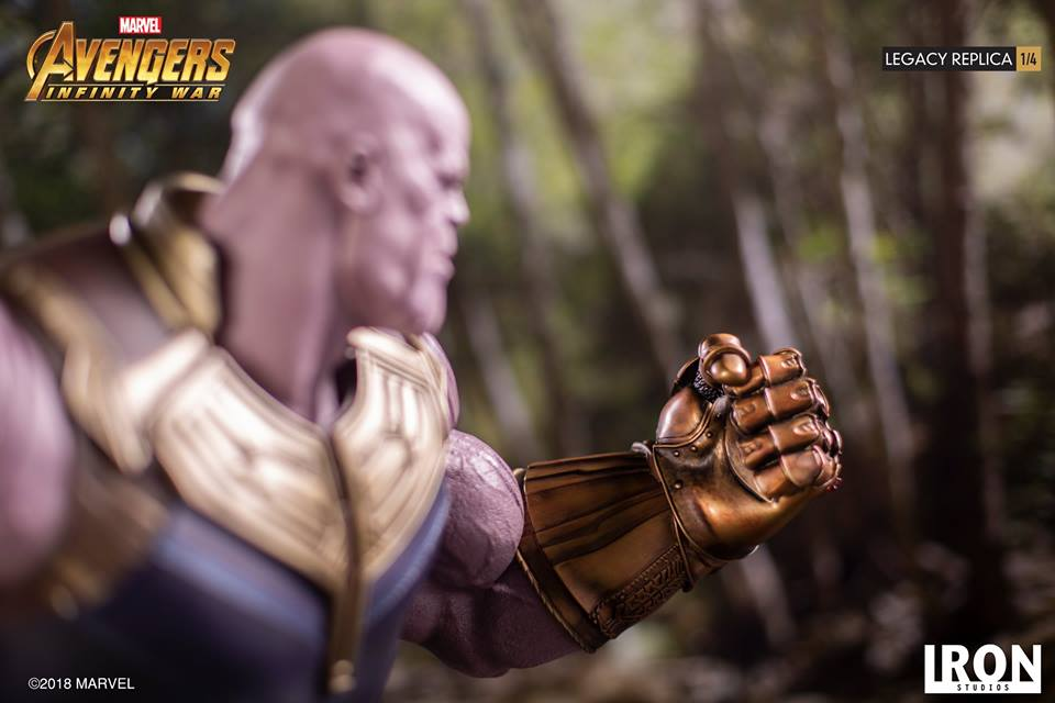[Iron Studios] - Avengers: Infinity War - Thanos 1/4 38697810