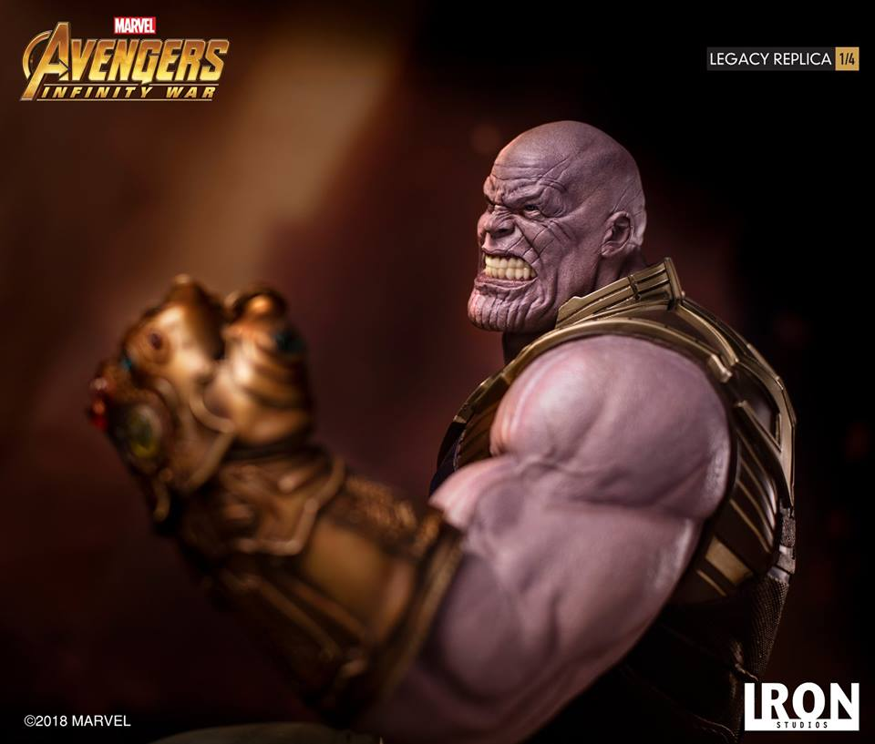 [Iron Studios] - Avengers: Infinity War - Thanos 1/4 38760910