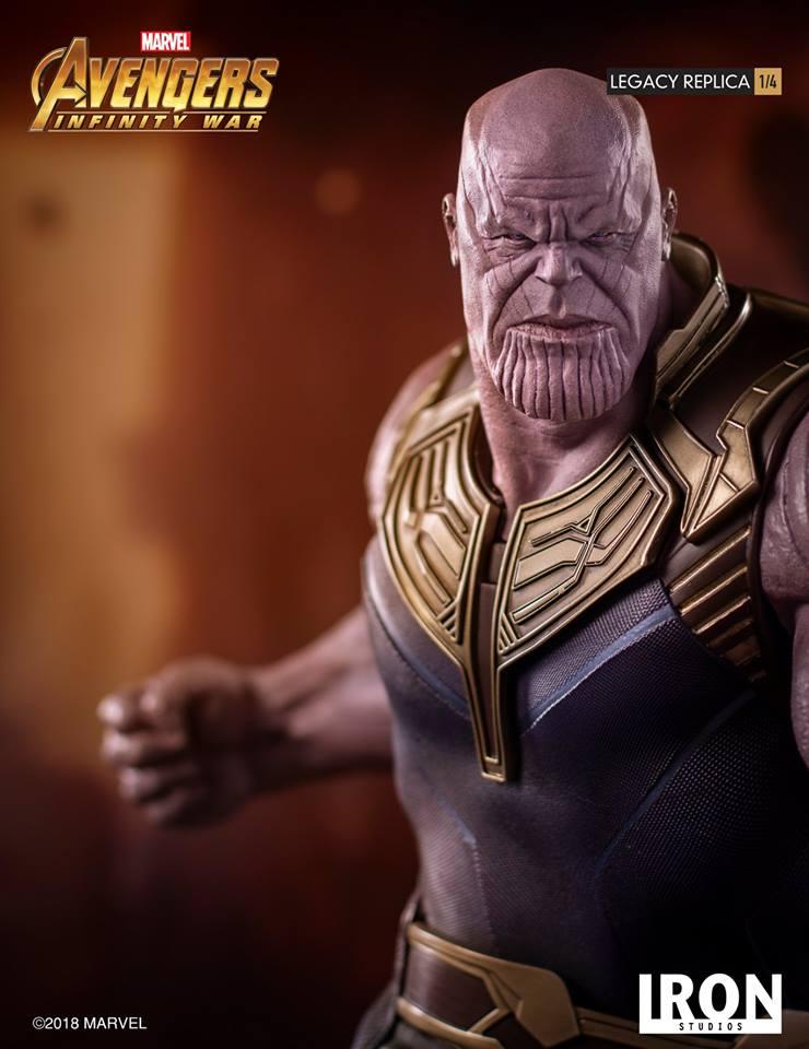 [Iron Studios] - Avengers: Infinity War - Thanos 1/4 38767210