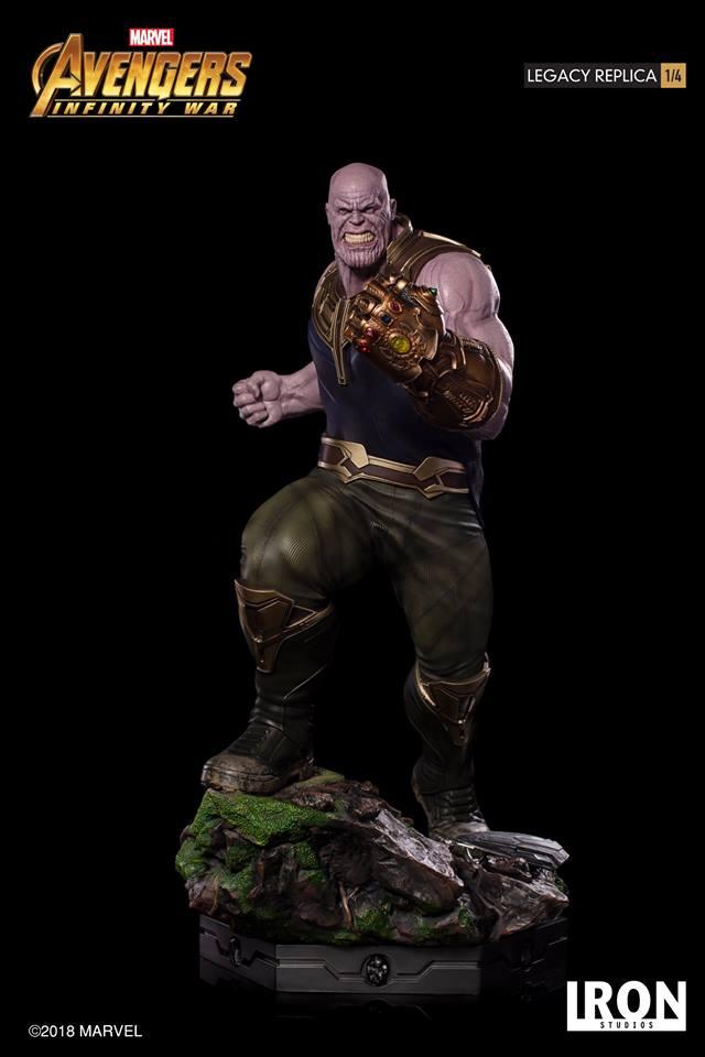 [Iron Studios] - Avengers: Infinity War - Thanos 1/4 38776610