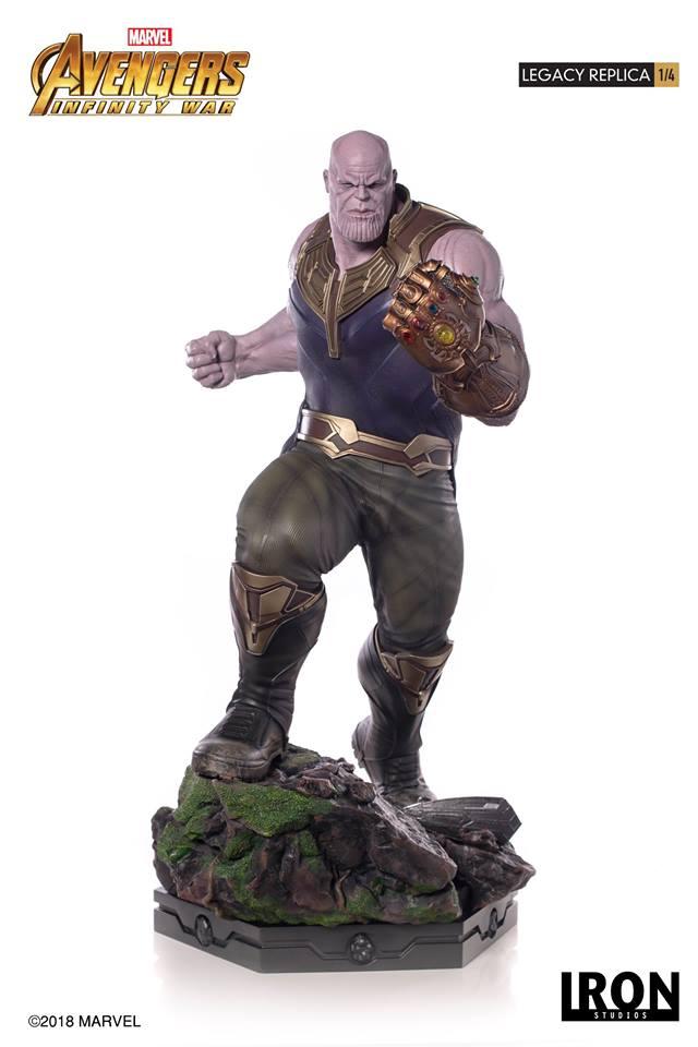 [Iron Studios] - Avengers: Infinity War - Thanos 1/4 38792510