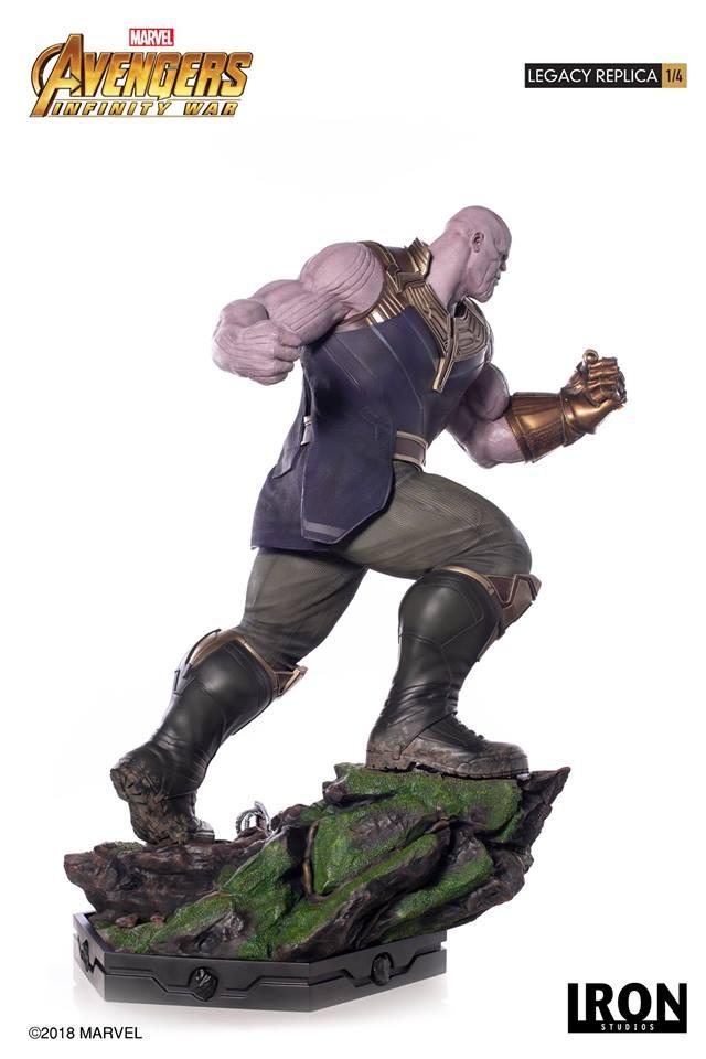 [Iron Studios] - Avengers: Infinity War - Thanos 1/4 38805710