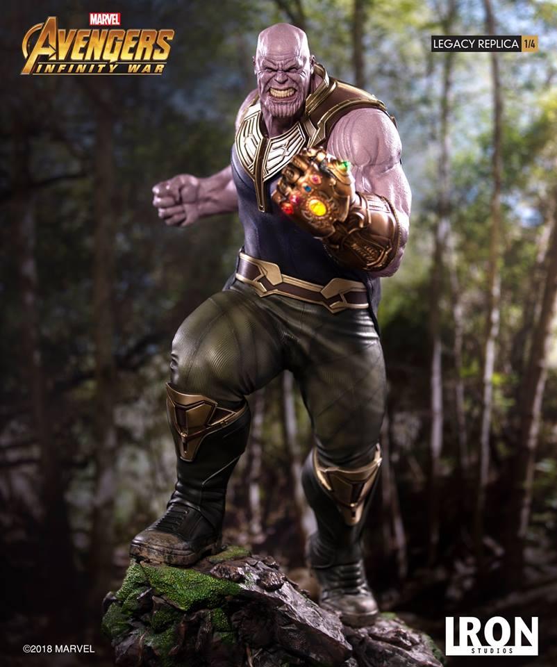 [Iron Studios] - Avengers: Infinity War - Thanos 1/4 38828210
