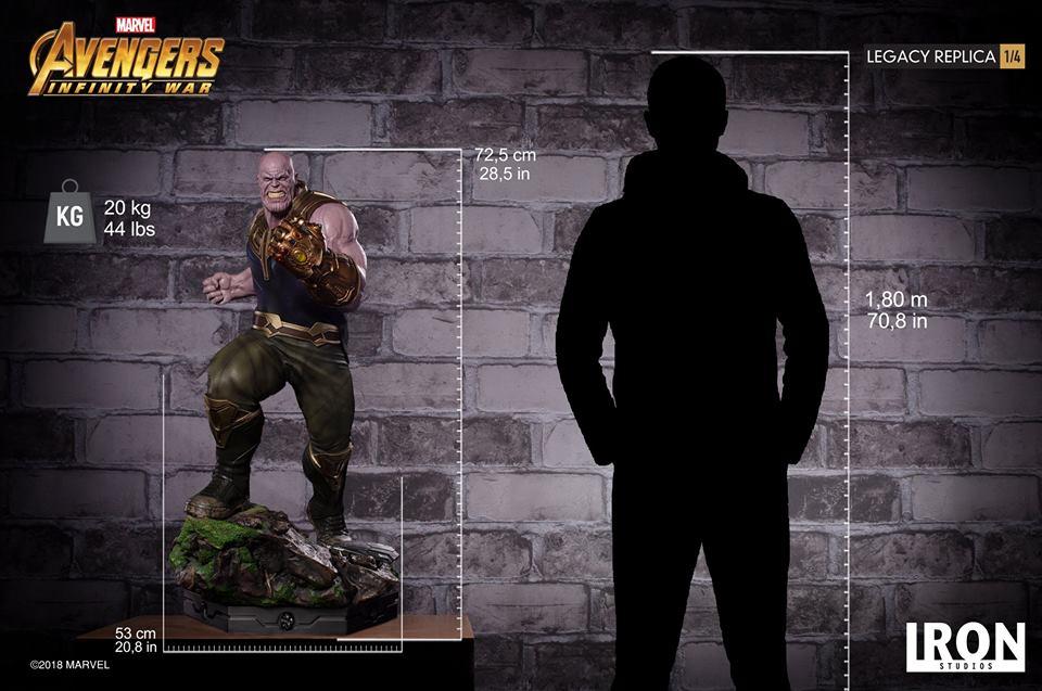 [Iron Studios] - Avengers: Infinity War - Thanos 1/4 38872910